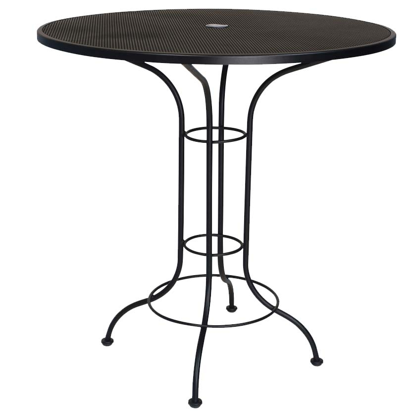buy the 42 round bar height table for your outdoor space online