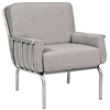 Pictured here is the Uptown Lounge Chair from Woodard.