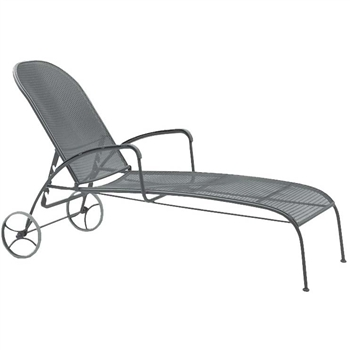 Pictured here is the Valencia Adjustable Chaise Loungefrom woodard