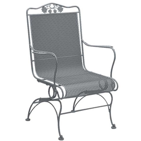 Pictured Is The Briarwood High Back Coil Spring Chair From Woodard Outdoor  Furniture, Sold By