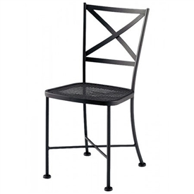 Pictured Is The Cafe Classics Genoa Side Chair From Woodard Outdoor  Furniture, Sold By Timeless