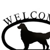 Wrought Iron Welcome Sign Small - Retriev