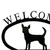 Wrought Iron Welcome Sign Small - Chihuah