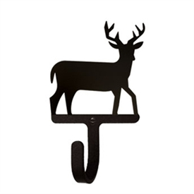 Wrought Iron Deer Wall Hook