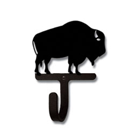 Wrought Iron Buffalo Magnet Hook