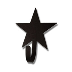 Wrought Iron Star Magnet Hook