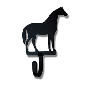 Wrought Iron Horse Magnet Hook