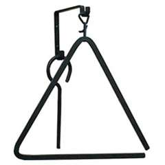 Pictured is the classic small iron triangle chime that measures 8.5-in. x 10-in.