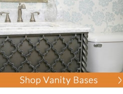 Wrought Iron Bathroom Accessories And Hardware - Wrought iron bathroom vanity stand