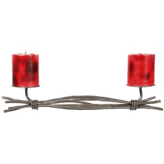 Rush Renaissance Double Candle Holder
