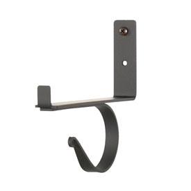 Wrought Iron Center Support Shelf Bracket