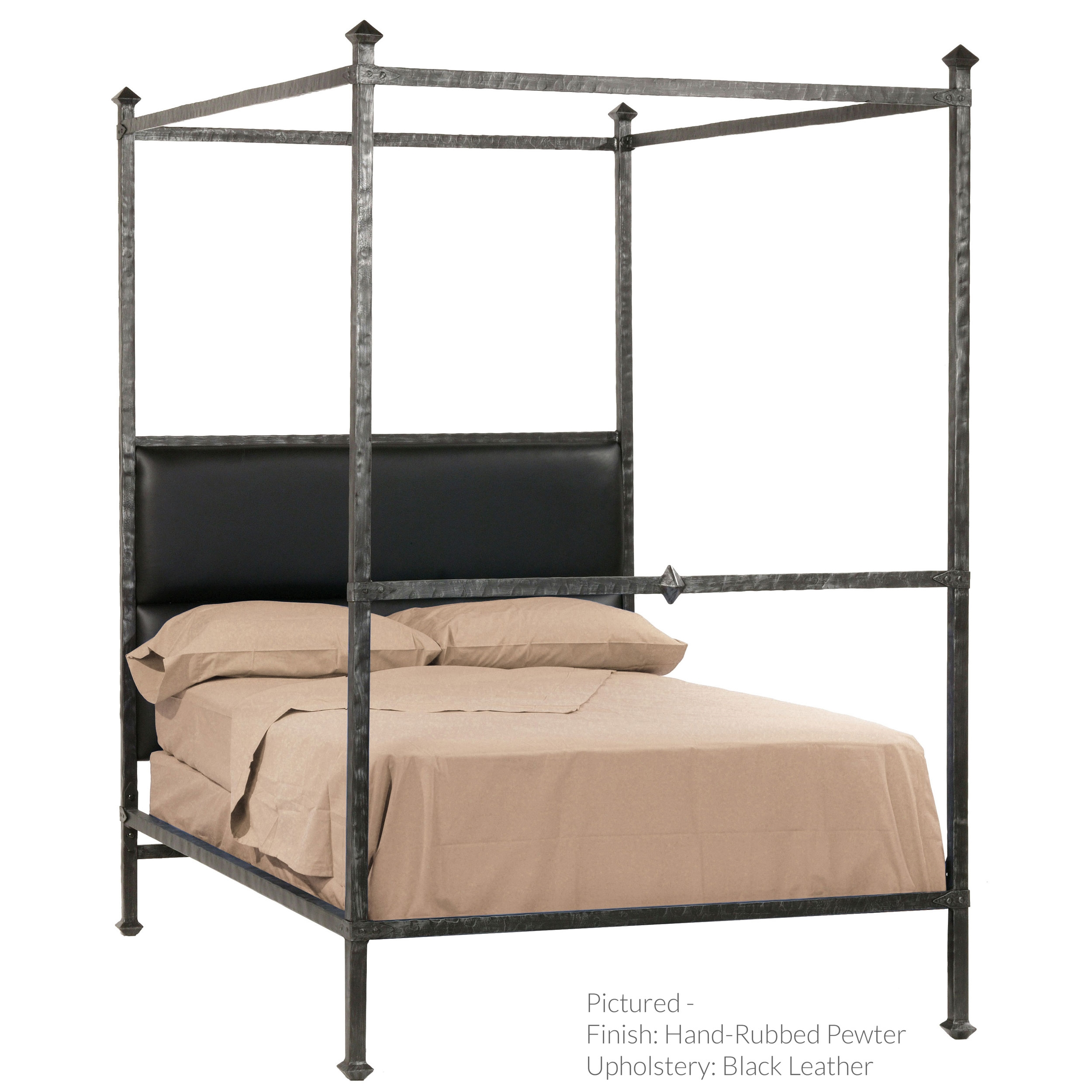 Antique french iron bed - Forest Hill Canopy Bed Made By Stone County Ironworks Sold By Timeless Wrought Iron
