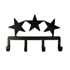 Wrought Iron Star Key Holder