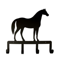 Wrought Iron Standing Horse Key Holder