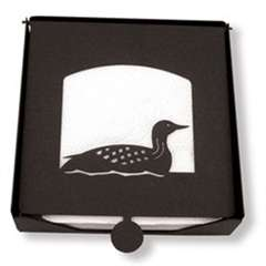 Wrought Iron Loon Napkin Holder (2-piece)