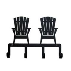 Wrought Iron Adirondack Chairs Key Holder