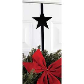 Wrought Iron Star Wreath Hanger