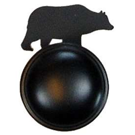 Wrought Iron Bear Cabinet Knob