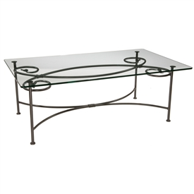 Wrought Iron Coffee Tables Timeless Wrought Iron