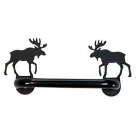 Wrought Iron Moose Cabinet Door Handle