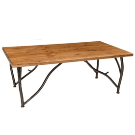 Rustic Woodland Cocktail Table