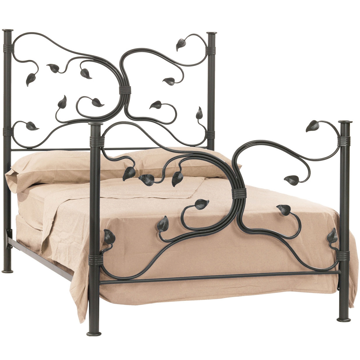 Wrought Iron Headboard And Bed Frame From Stone County Ironworks Larger Photo