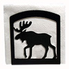 Wrought Iron Moose Napkin Holder