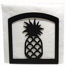 Wrought Iron Pineapple Napkin Holder