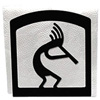 Wrought Iron Kokopelli Napkin Holder