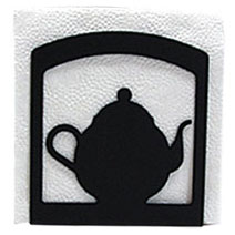 Wrought Iron Teapot Napkin Holder