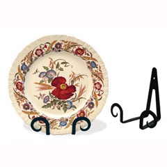 Wrought Iron Table Top Plate Holder