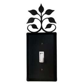 Wrought Iron Leaf Fan Switch Plate