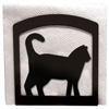 Wrought Iron Cat Napkin Holder