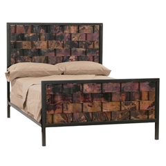 Rushton Copper Headboard