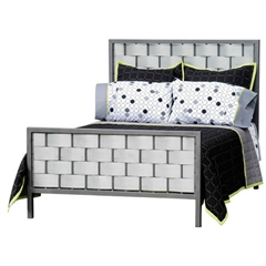 Rushton Galvanized Headboard