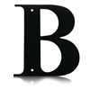 Wrought Iron Letter B