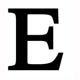 wrought iron letter e wrought iron letter e 233