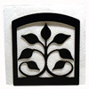 Wrought Iron Leaf Fan Napkin Holder
