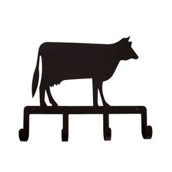 Wrought Iron Cow Key Holder