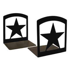 Wrought Iron Star Bookends