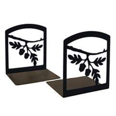 Wrought Iron Acorn Bookends