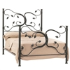 Pictured here is the Eden Isle Wrought Iron Bed available in 7 iron finishes and Full, Queen, King and Cal-King bed sizes.