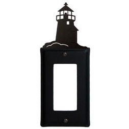 Wrought Iron Lighthouse GFI Cover