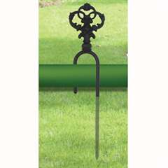Wrought Iron Decorative Hose Guide