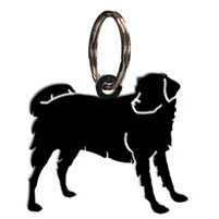 Wrought Iron Dog Key Chain