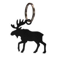 Wrought Iron Moose Key Chain