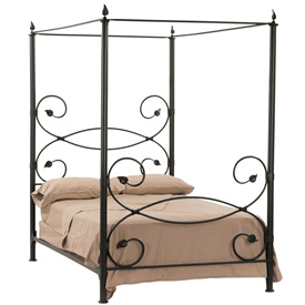 Leaf Canopy Bed