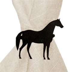 Wrought Iron Horse Napkin Ring