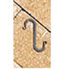 "Wrought Iron S-Hook - 2"" x 5/8"""