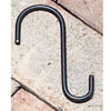 "Wrought Iron Tree Hook - 4"" with 3/4"" & 1-3/8"" hooks"
